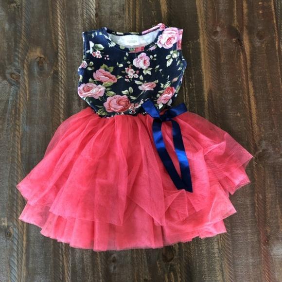 *2/$10* Floral Dress